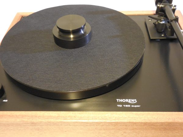 horens TD-160 Super Reproduction, Midnight Edition (ME), Upgraded Rega (Moth) RB-202 arm, Sapele plinth 06