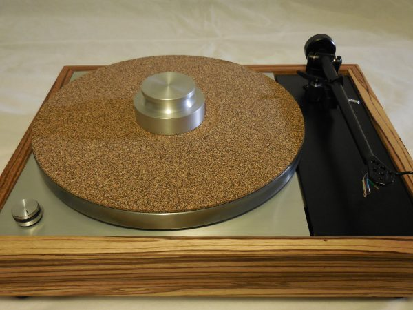 Cork-rubber composite mat and the Bren record weight are included!