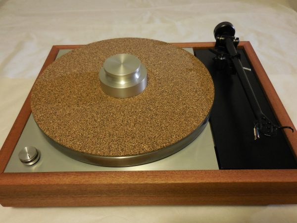 Cork-rubber composite mat and Bren record weight included!
