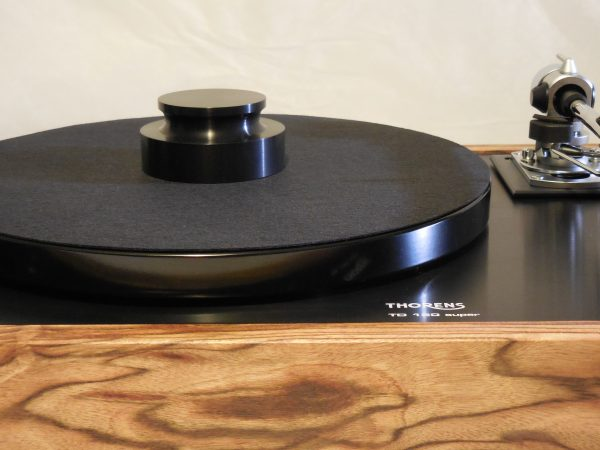 Thorens TD-160 Super Reproduction, Midnight Edition (ME), new SME m2-9 arm, Caribbean Rosewood plinth 08