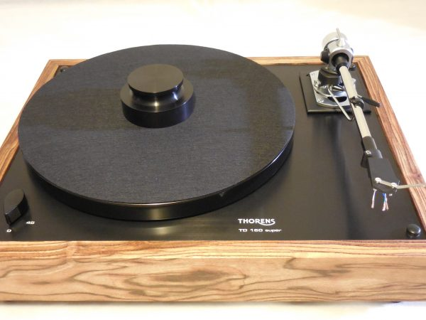 Thorens TD-160 Super Reproduction, Midnight Edition (ME), new SME m2-9 arm, Caribbean Rosewood plinth 05