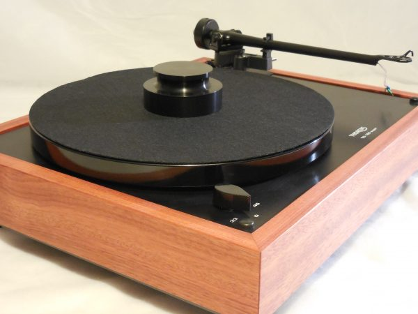 Thorens TD-160 Super Reproduction, Midnight Edition (ME), Upgraded Rega (Moth) RB-202 arm, Bloodwood plinth 04