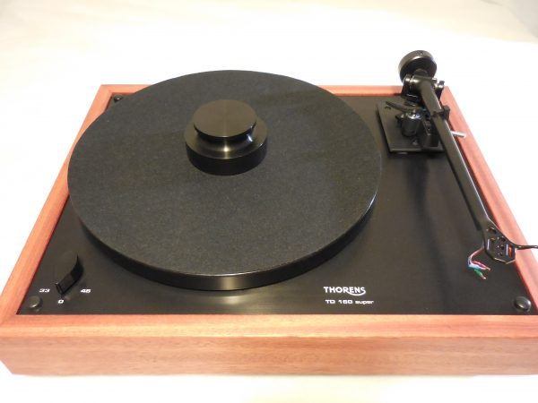 Thorens TD-160 Super Reproduction, Midnight Edition (ME), Upgraded Rega (Moth) RB-202 arm, Bloodwood plinth 05