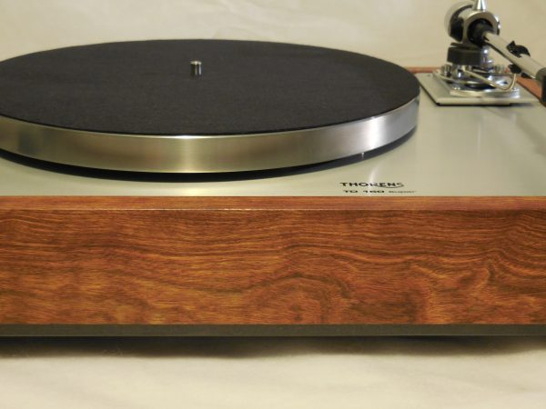 Thorens TD-160 Super Reproduction, new SME M2-9 arm, custom Caribbean rosewood plinth 01