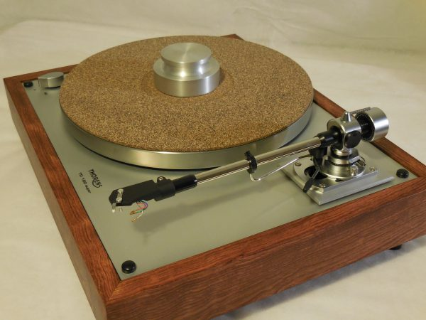 Thorens TD-160 Super Reproduction, new SME M2-9 arm, custom Caribbean rosewood plinth 03