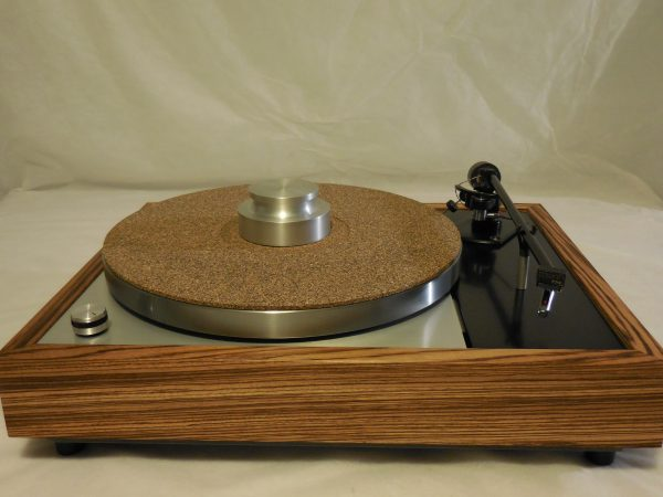 Vinyl Nirvana's VN-150! A Transformed Thorens TD-150 in custom Zebrawood plinth, Rewired Mission 774 Tonearm, new Ortofon Cartridge 05