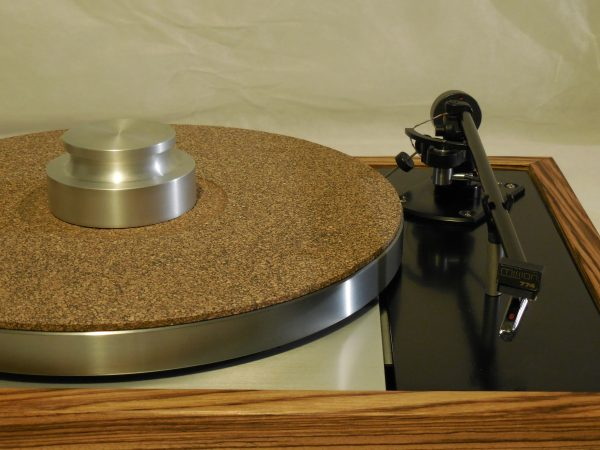 Vinyl Nirvana's VN-150! A Transformed Thorens TD-150 in custom Zebrawood plinth, Rewired Mission 774 Tonearm, new Ortofon Cartridge 01