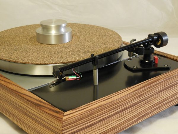 Vinyl Nirvana's VN-150! A Transformed Thorens TD-150 in custom Zebrawood plinth, Rewired Mission 774 Tonearm, new Ortofon Cartridge 03