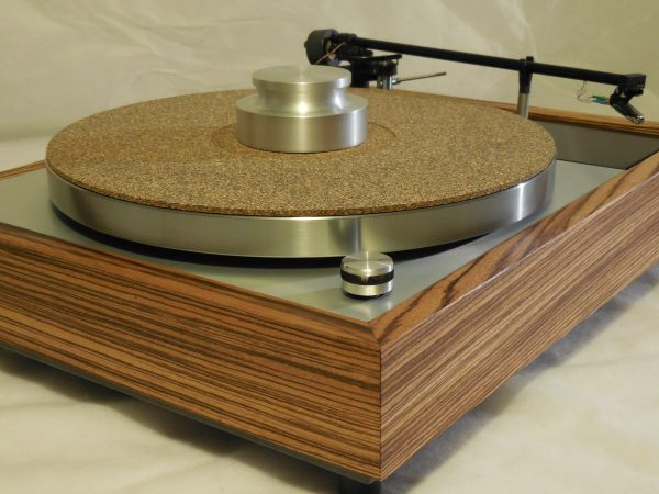 Vinyl Nirvana's VN-150! A Transformed Thorens TD-150 in custom Zebrawood plinth, Rewired Mission 774 Tonearm, new Ortofon Cartridge 02