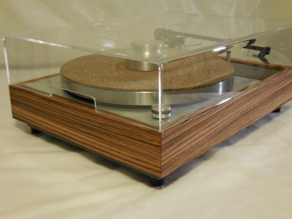 Vinyl Nirvana's VN-150! A Transformed Thorens TD-150 in custom Zebrawood plinth, Rewired Mission 774 Tonearm, new Ortofon Cartridge