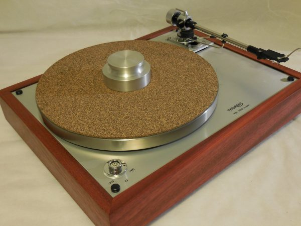 The Ultra ~ Thorens TD-160 Super Reproduction, new SME M2-9 arm, custom Bloodwood plinth, Origin Live Ultra Motor, full mods 01