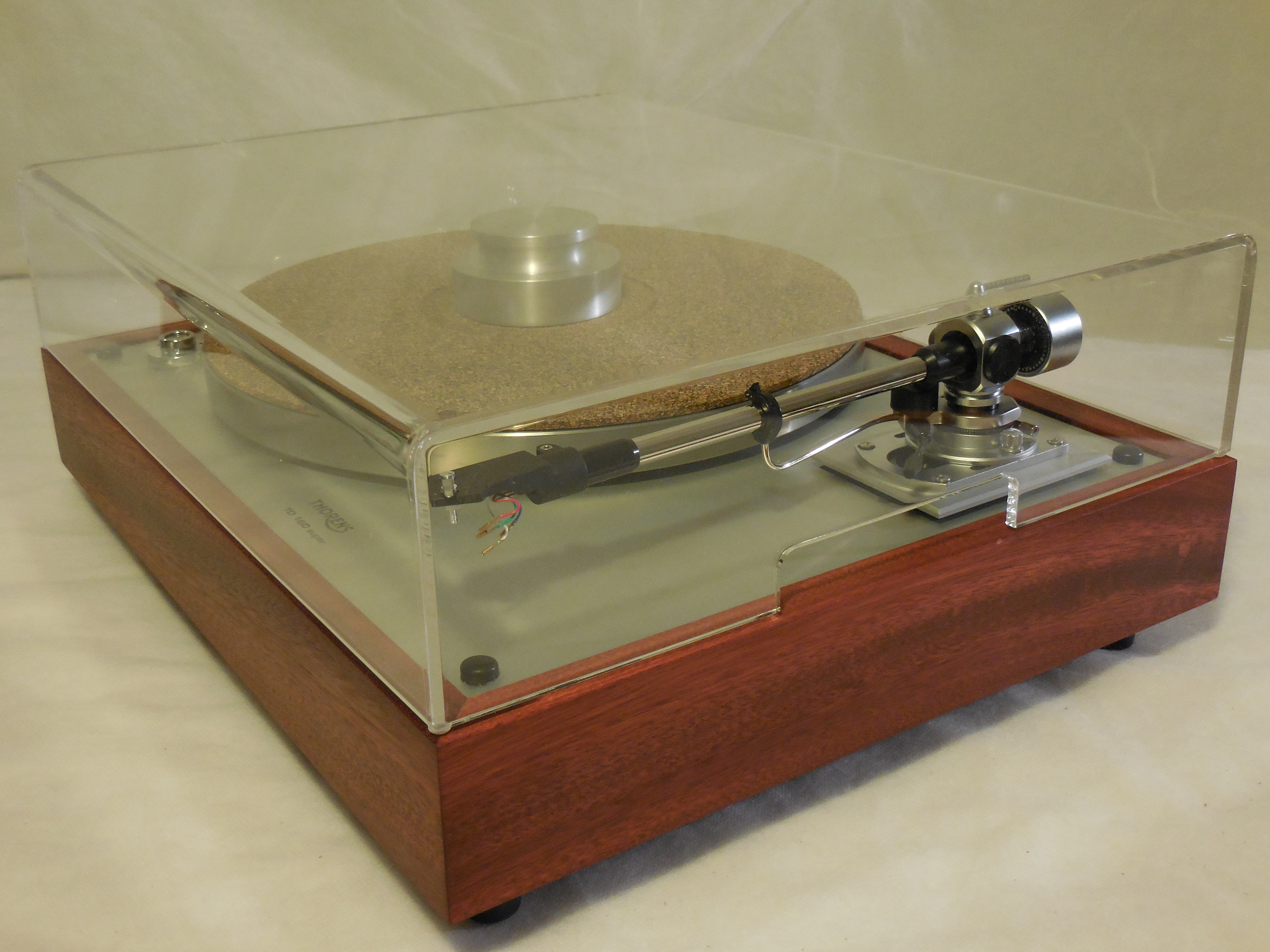 The Ultra Thorens TD 160 Super Reproduction new SME M2 9 arm