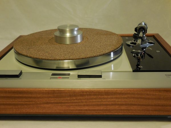The Master! Thorens TD-125 MKII w/new SME M2-9 Arm & Custom Santos Mahogany Plinth 03