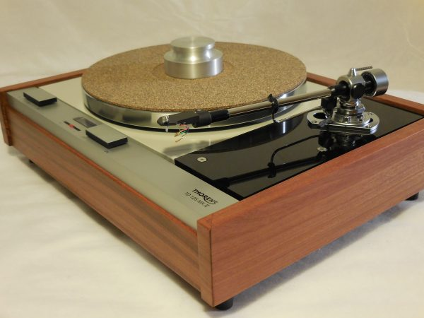 The Master! Thorens TD-125 MKII w/new SME M2-9 Arm & Custom Santos Mahogany Plinth 01