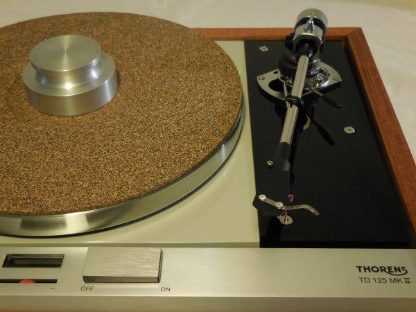 The Master! Thorens TD-125 MKII w/new SME M2-9 Arm & Custom Santos Mahogany Plinth 02