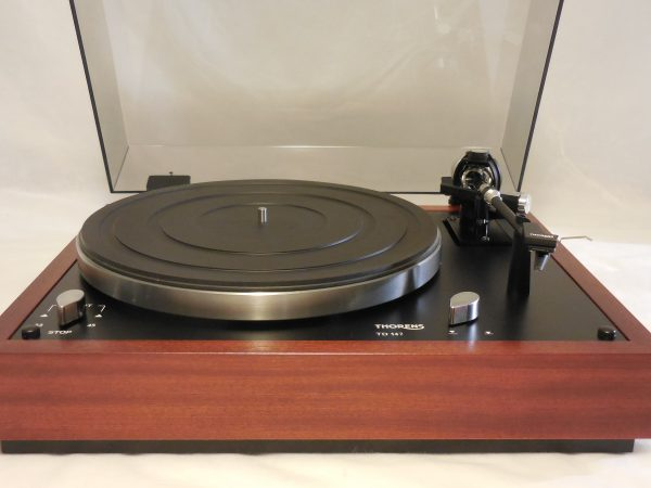 Rare Thorens TD-147, Auto-shut off version of TD-160 Super 01