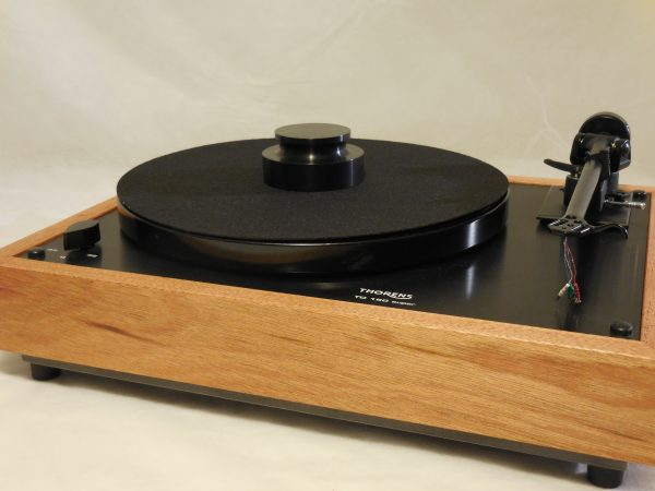 Custom Thorens TD-160 Super Reproduction, Midnight Edition (ME), Upgraded Rega (Moth) RB-202 arm, Mahogany Plinth 01