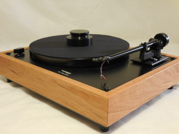 Custom Thorens TD-160 Super Reproduction, Midnight Edition (ME), Upgraded Rega (Moth) RB-202 arm, Mahogany Plinth 03