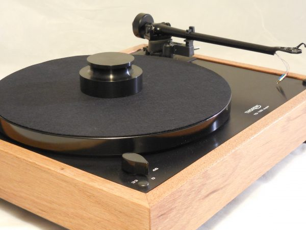 Custom Thorens TD-160 Super Reproduction, Midnight Edition (ME), Upgraded Rega (Moth) RB-202 arm, Mahogany Plinth 02