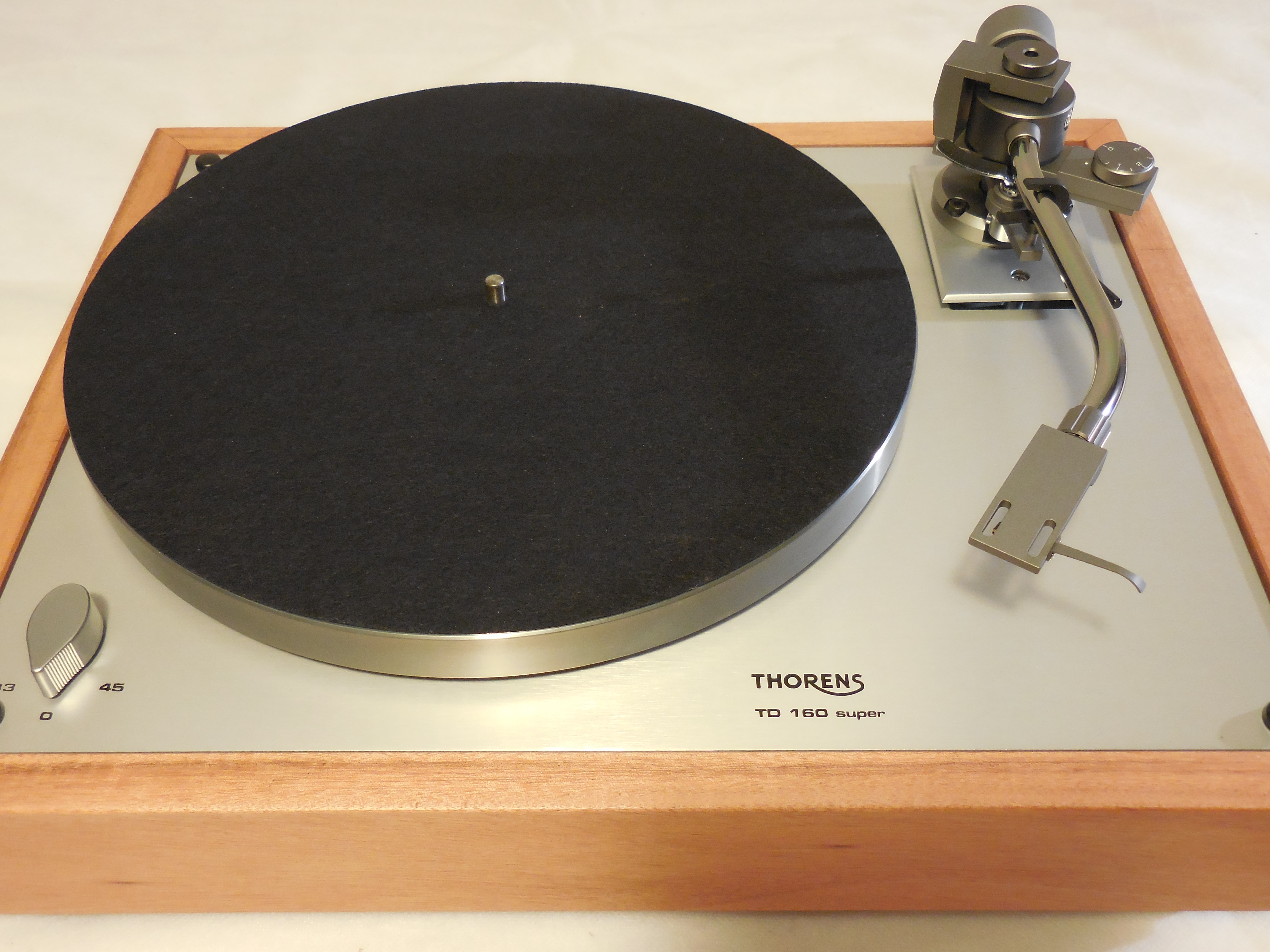 Custom Thorens Td 160 Super Reproduction New Jelco 750d