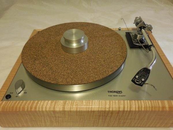 Bren record weight and cork-rubber composite mat add $120