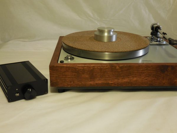 The Ultra ~ Thorens TD-160 Super Reproduction, new SME M2-9 arm, custom Caribbean Rosewood plinth, Origin Live Ultra Motor, full mods 02