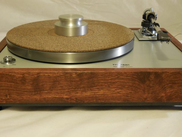 The Ultra ~ Thorens TD-160 Super Reproduction, new SME M2-9 arm, custom Caribbean Rosewood plinth, Origin Live Ultra Motor, full mods 01