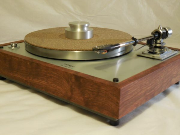 The Ultra ~ Thorens TD-160 Super Reproduction, new SME M2-9 arm, custom Caribbean Rosewood plinth, Origin Live Ultra Motor, full mods 03