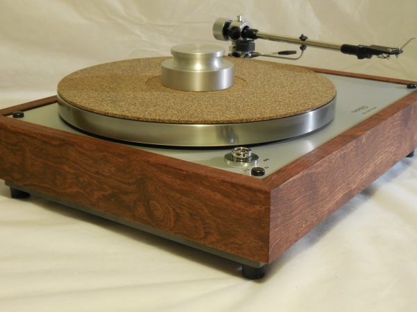 The Ultra ~ Thorens TD-160 Super Reproduction, new SME M2-9 arm, custom Caribbean Rosewood plinth, Origin Live Ultra Motor, full mods 04