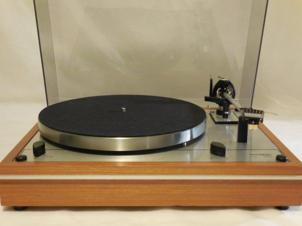 Starter Package! Vintage Thorens TD-165 Turntable, w/used Shure cartridge, new stylus 001