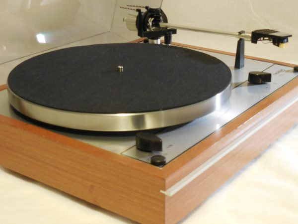 Starter Package! Vintage Thorens TD-165 Turntable, w/used Shure cartridge, new stylus 002