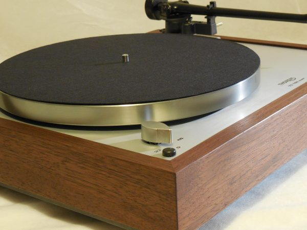 Custom Thorens TD-160 Super Reproduction, Upgraded Rega (Moth) RB-202 arm, Peruvian Walnut Plinth 02