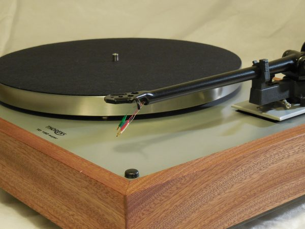 Custom Thorens TD-160 Super Reproduction, Upgraded Rega (Moth) RB-202 arm, Sapele plinth 02