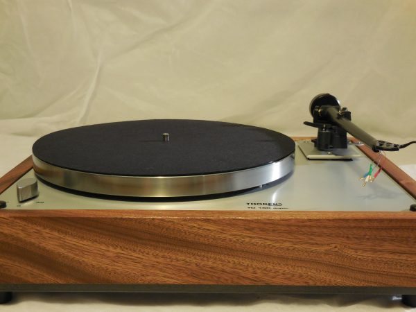 Custom Thorens TD-160 Super Reproduction,  Upgraded Rega (Moth) RB-202 arm, Sapele plinth 03