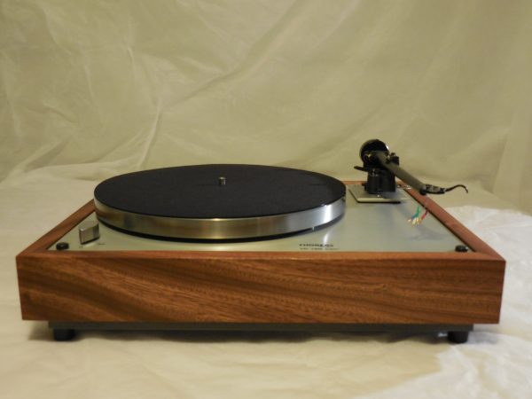 Custom Thorens TD-160 Super Reproduction,  Upgraded Rega (Moth) RB-202 arm, Sapele plinth 01
