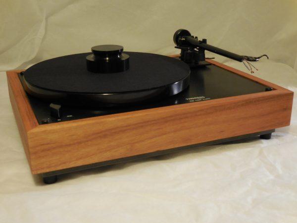 Custom Thorens TD-160 Super Reproduction, Midnight Edition (ME), Upgraded Rega (Moth) RB-202 arm, Tiger Wood Plinth 03