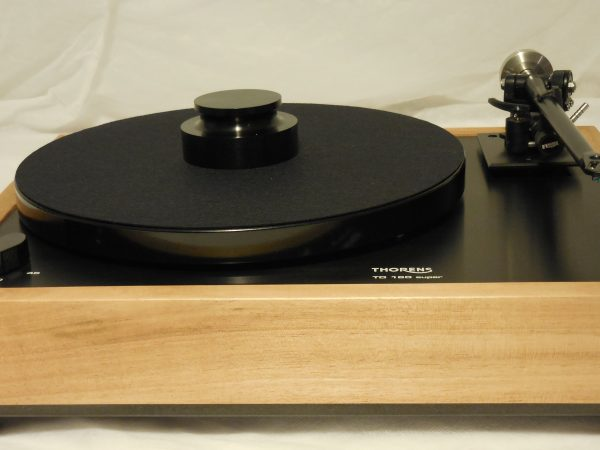 Special Package! Custom Thorens TD-160 Super Reproduction, Midnight Edition (ME), Used Rega RB-301 arm, Monkeywood Plinth 02