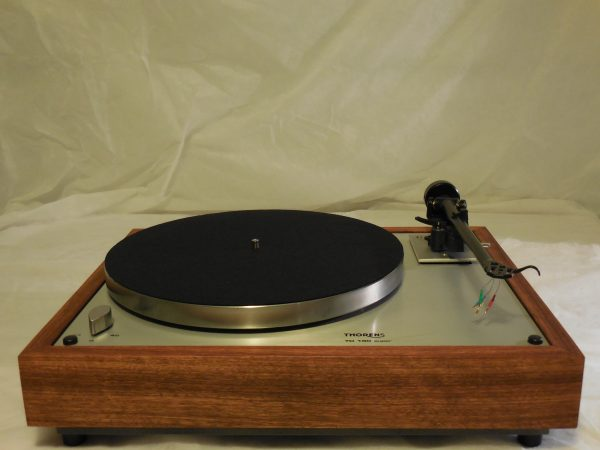 Custom Thorens TD-160 Super Reproduction, Upgraded Rega (Moth) RB-202 arm, Caribbean Rosewood plinth 03