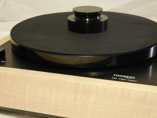Custom Thorens TD-160 Super Reproduction, Midnight Edition (ME), Upgraded Rega (Moth) RB-202 arm, Tiger Maple 02