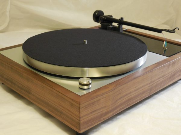 Transformed Thorens TD-150 in custom Black Mahogany plinth, Upgraded Rega (Moth) RB-202 Tonearm, Extras 01