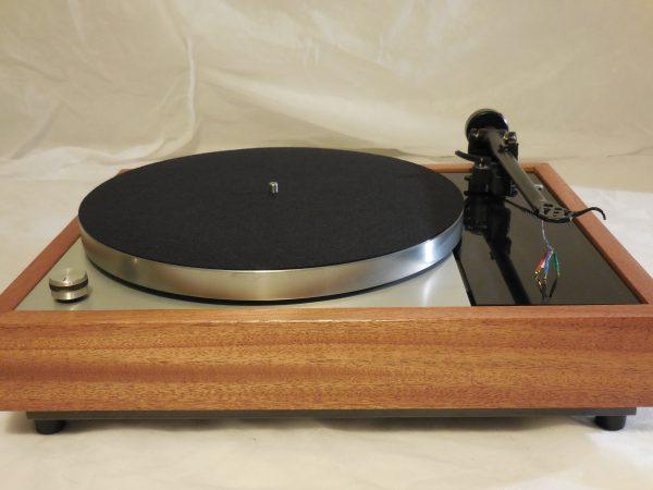 Vinyl Nirvana's VN-150! A Transformed Thorens TD-150 in custom African Mahogany plinth, Upgraded Rega (Moth) RB-202 Tonearm, Extras 02