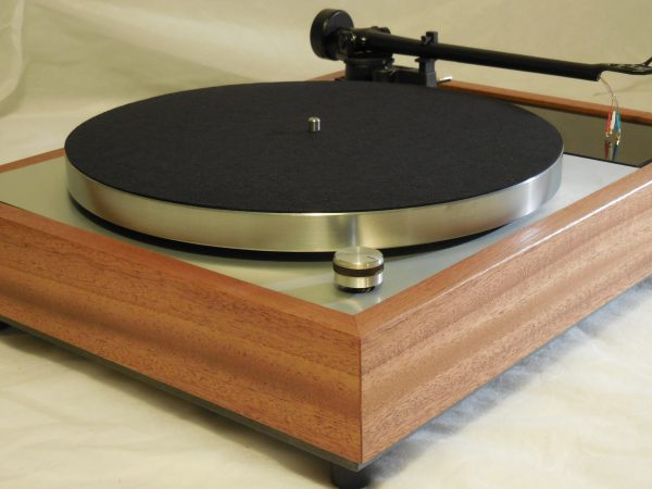 Vinyl Nirvana's VN-150! A Transformed Thorens TD-150 in custom African Mahogany plinth, Upgraded Rega (Moth) RB-202 Tonearm, Extras 01