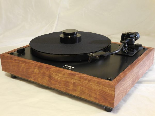 Custom Thorens TD-160 Super Reproduction, Midnight Edition (ME), Jelco 750DB arm, caribbean rosewood 01