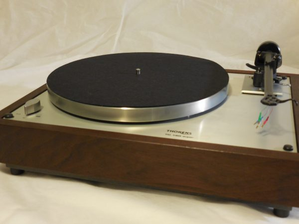 Custom Thorens TD-160 Super Reproduction, Upgraded Rega (Moth) RB-202 arm, Peruvian Walnut Plinth 01