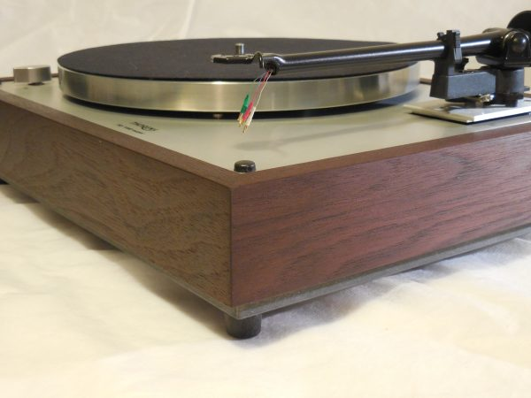 Custom Thorens TD-160 Super Reproduction, Upgraded Rega (Moth) RB-202 arm, Peruvian Walnut Plinth 03