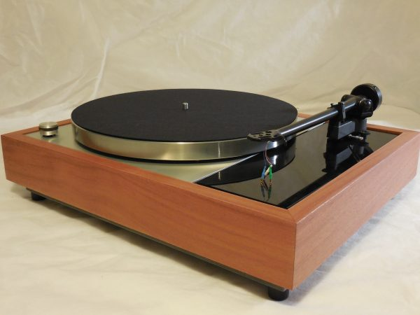 Vinyl Nirvana's VN-150! A Transformed Thorens TD-150 in custom Santos Mahogany plinth, Upgraded Rega (Moth) RB-202 Tonearm, Extras 03