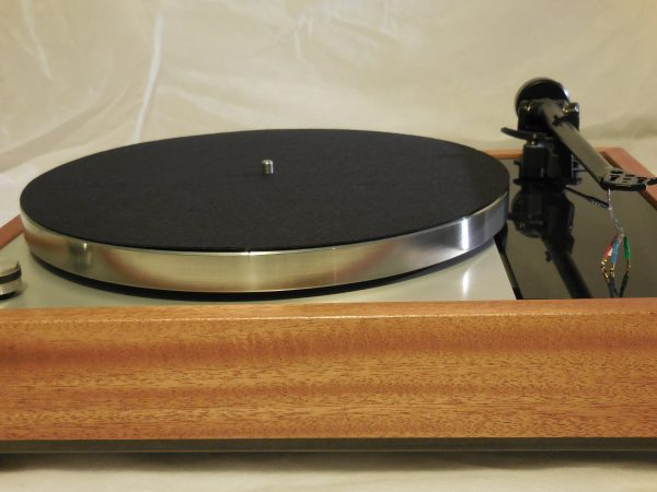 Vinyl Nirvana's VN-150! A Transformed Thorens TD-150 in custom  African Mahogany plinth, Upgraded Rega (Moth) RB-202 Tonearm 03