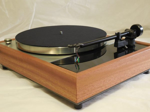 Vinyl Nirvana's VN-150! A Transformed Thorens TD-150 in custom  African Mahogany plinth, Upgraded Rega (Moth) RB-202 Tonearm 01
