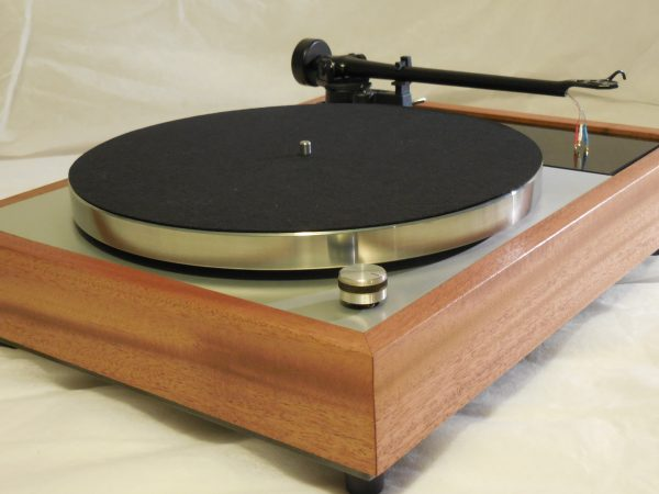 Vinyl Nirvana's VN-150! A Transformed Thorens TD-150 in custom  African Mahogany plinth, Upgraded Rega (Moth) RB-202 Tonearm 02