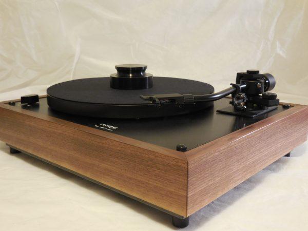 Custom Thorens TD-160 Super Reproduction, Midnight Edition (ME), Jelco 750DB arm, Black Walnut Plinth, Ortofon 2M Black 01
